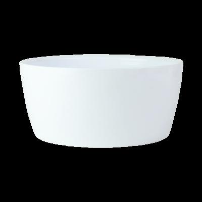 Misa ceramiczna na storczyki biała 28,5 cm