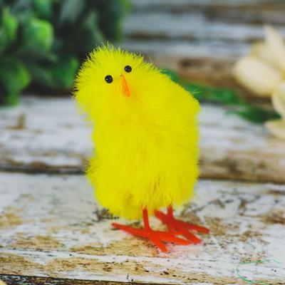 Kurczaczek do koszyczka żółty 8,5 cm