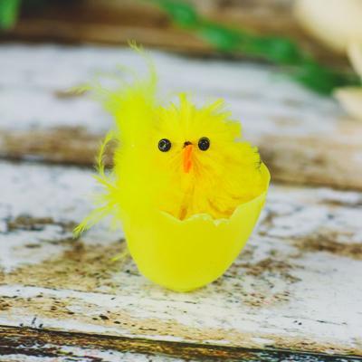 Kurczaczek w skorupce żółty 3,5x5 cm