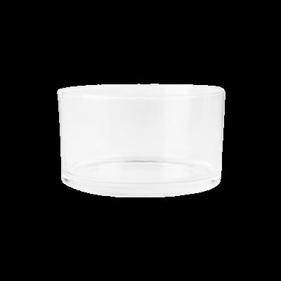 Salaterka szklana prosta EDWANEX 14 cm