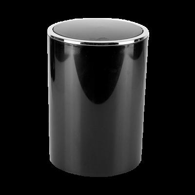 Kosz łazienkowy Lenox czarny 6 l