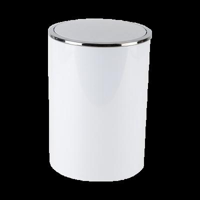 Kosz łazienkowy Lenox biały 6 l