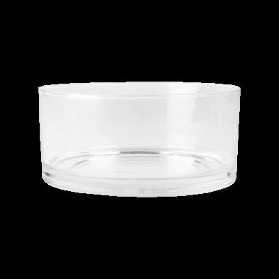 Salaterka szklana prosta EDWANEX 17 cm