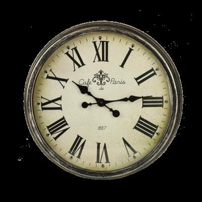Zegar ścienny retro 45 cm