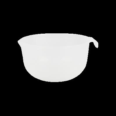 Miska plastikowa z dzióbkiem transparentna 2 l