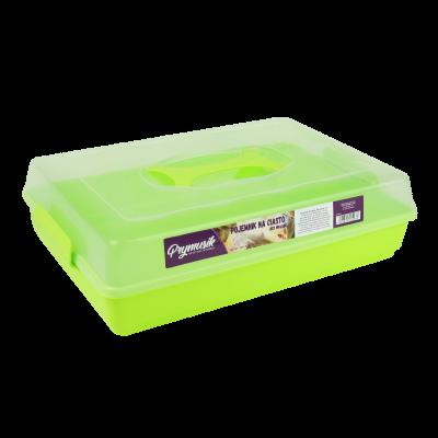 Pojemnik na ciasto pistacjowy 44x30x13 cm