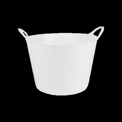 Kosz wielofunkcyjny flexi biały 15 l