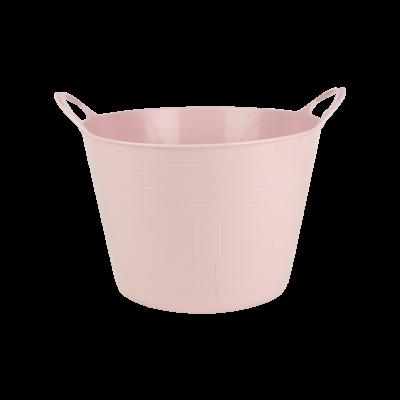 Kosz wielofunkcyjny flexi różowy 15 l