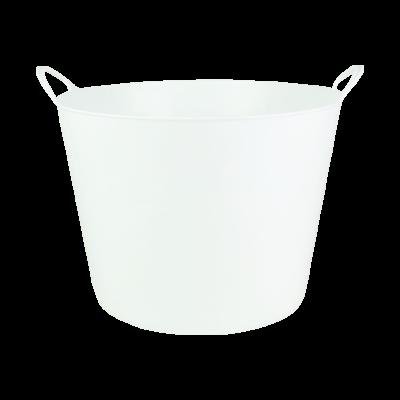 Kosz wielofunkcyjny flexi biały 42 l