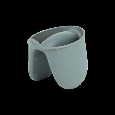 Łapka kuchenna silikonowa TOPFANN szara 10x8 cm