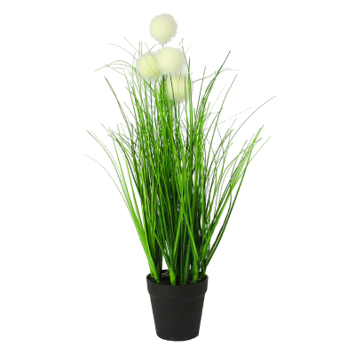 Sztuczna trawa w donicy kuleczki 46 cm