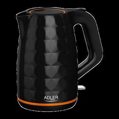 Czajnik elektryczny ADLER AD1277 czarny 1,7 l