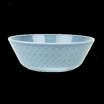 Salaterka LUBIANA Marrakesz niebieska 23 cm