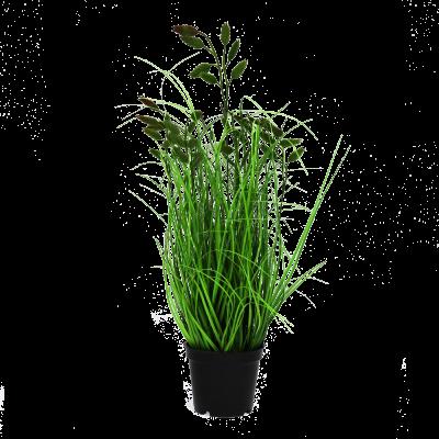 Sztuczna trawa w donicy listki 40 cm