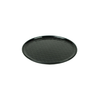 Talerz okrągły LUBIANA Marrakesz czarny 20 cm