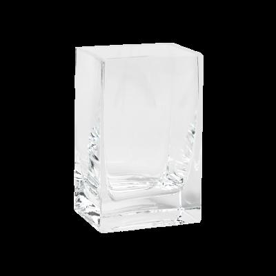 Wazon szklany prostokątny 10x7x15cm