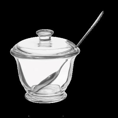 Cukiernica szklana z pokrywką Abner 200 ml