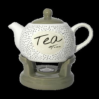 Dzbanek z podgrzewaczem Tea time 1l
