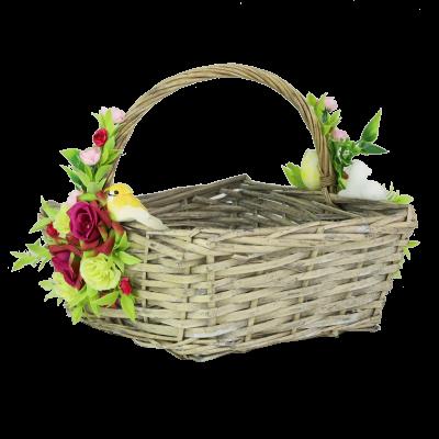 Koszyk wielkanocny wiklinowy 23 cm