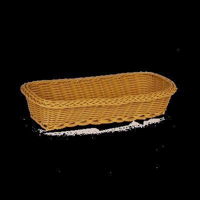 Koszyk prostokątny na pieczywo 29x12,5x6 cm