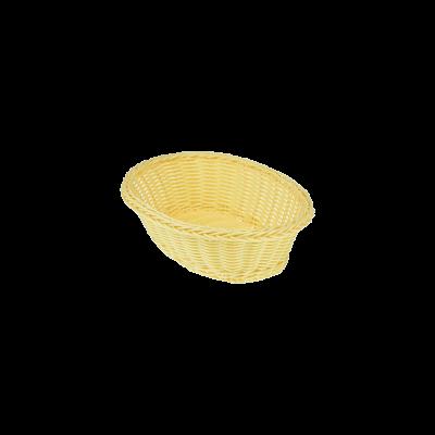 Koszyk owalny na pieczywo 24x17x7 cm
