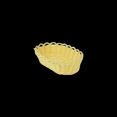 Koszyk owalny na pieczywo 22x16x6 cm