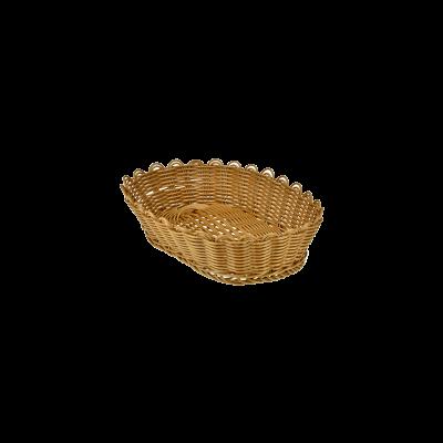 Koszyk owalny na pieczywo 25x16x6,5 cm