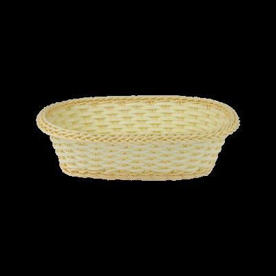 Koszyk owalny na pieczywo 27,5x19x9 cm