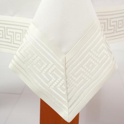 Obrus Greek ecru 110x160 cm