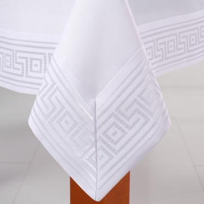 Obrus Greek biały 110x160 cm