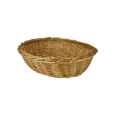 koszyk owalny na pieczywo 26,5x20,5x8 cm