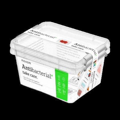 Komplet 2 pojemników na żywność ANTIBACTERIAL 1,6l