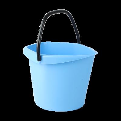 Wiadro plastikowe niebieskie 5l