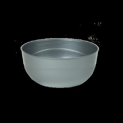 Miseczka plastikowa srebrna 1,2 l