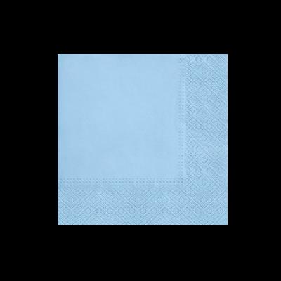Serwetki papierowe PAW Unicolor niebieskie 20 szt