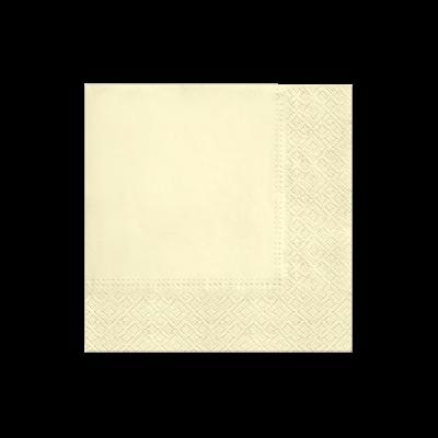 Serwetki papierowe PAW Unicolor kremowe 20 szt