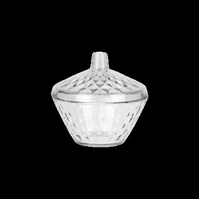 Cukiernica szklana z pokrywką LAV Artemis 330 ml