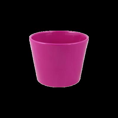 Osłonka ceramiczna prymula różowa 12 cm