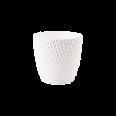 Osłonka plastikowa Mika biała 15 cm