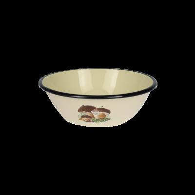 Miska emaliowana GRZYBKI 0,6l