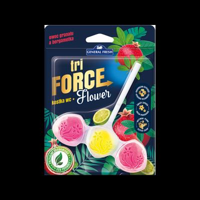 Zawieszka do WC Tri Force granat i bergamotka 45 g