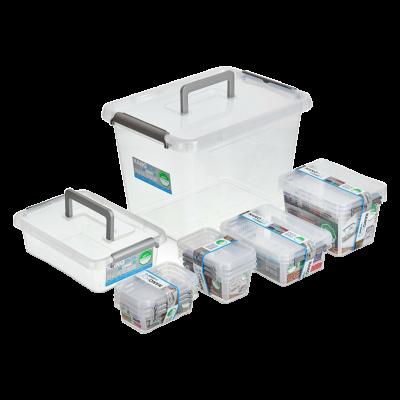 Zestaw 12 pojemników na żywność ANTIBACTERIAL