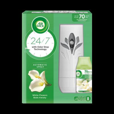 Odświeżacz AIR WICK Freshmatic urządzenie z wkładem białe kwiaty 250 ml