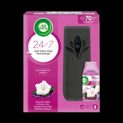 Odświeżacz AIR WICK Freshmatic urządzenie z wkładem księżycowa lilia 250 ml
