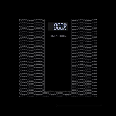 Waga łazienkowa elektroniczna TOPFANN SS-2012 kropki czarna