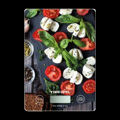 Waga kuchenna elektroniczna TOPFANN SS-1032 pomidory i bazylia