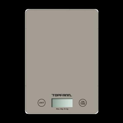 Waga kuchenna elektroniczna TOPFANN SS-1032 szara