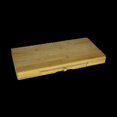 Deska do serów z zestawem noży 45x22x4cm