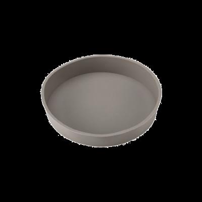 Tortownica silikonowa Roseli szara 24 cm