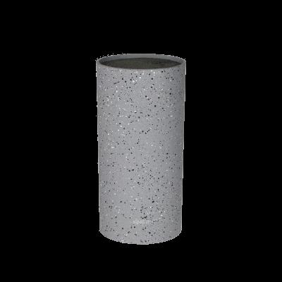 Uniwersalny blok na noże kuchenne szary granit 11x22 cm